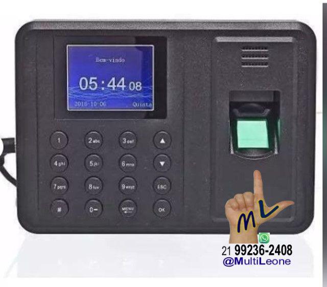 Relógio De Ponto Com Leitor Biométrico Impressão Digital - Foto 3