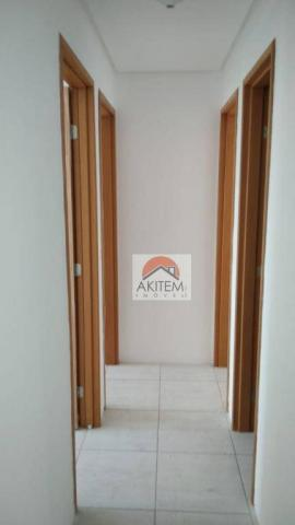 Apartamento com 3 quartos para alugar, 64 m² por R$ 1.800/mês - Casa Caiada - Olinda/PE - Foto 13