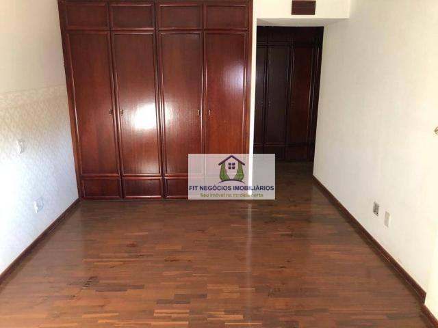 Apartamento com 4 dormitórios para alugar, 190 m² por R$ 2.700/mês - Centro - São José do  - Foto 11