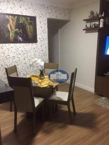 Apartamento com 3 dormitórios à venda, 57 m² por R$ 200.000 - Vila Alba - Araçatuba/SP - Foto 3