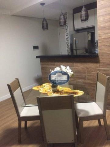 Apartamento com 3 dormitórios à venda, 57 m² por R$ 200.000 - Vila Alba - Araçatuba/SP