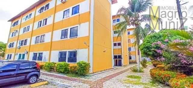 Apartamento com 2 dormitórios para alugar, 46 m² por R$ 650,00/mês - Edson Queiroz - Forta - Foto 10