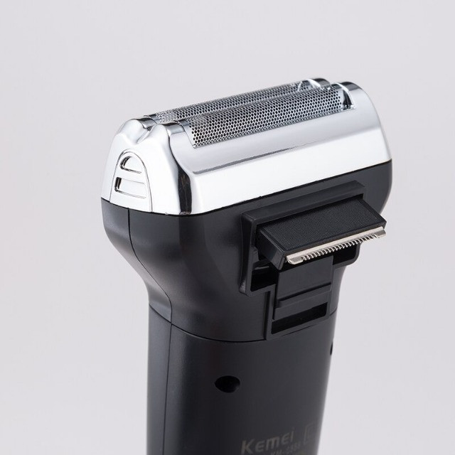 Máquina Cortar Cabelo, Nariz E Barbear Shaver Kemei 3 Em 1 - Foto 2