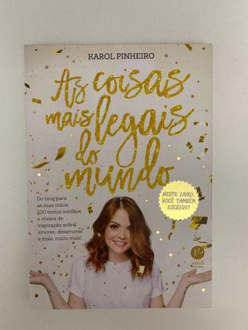 Livro Karol Pinheiro - as coisas mais legais do mundo