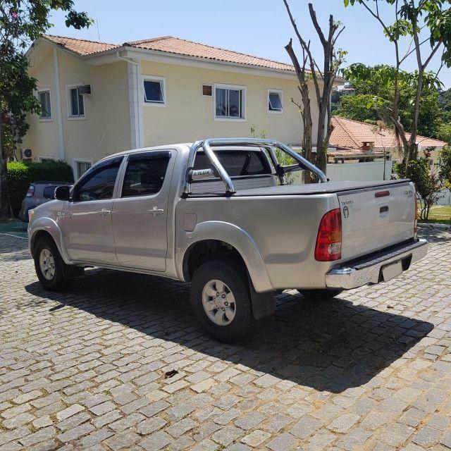 Toyota Hilux 2008 Diesel 4x2( Mt nova) - Foto 6