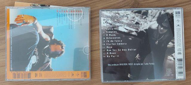 2 CDs Wilson SIDERAL - 1 DELES COM ENCARTE AUTOGRAFADO - Foto 2