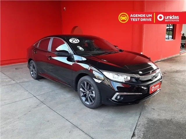 Honda civic 2.0 Ex 2020 IPVA GRÁTIS  - Foto 3