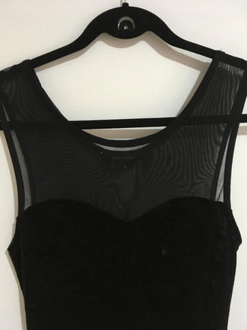 Vestido veludo preto - Foto 3