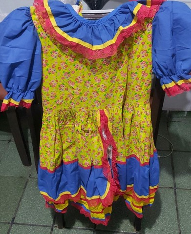 Lindo vestido de festa junina - Foto 3