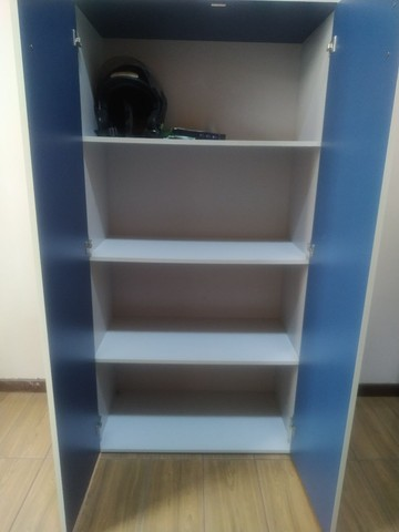 Armário de Escritorio cinza/azul - Foto 3