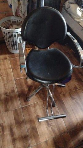 Cadeira de cabeleireiro  - Foto 4