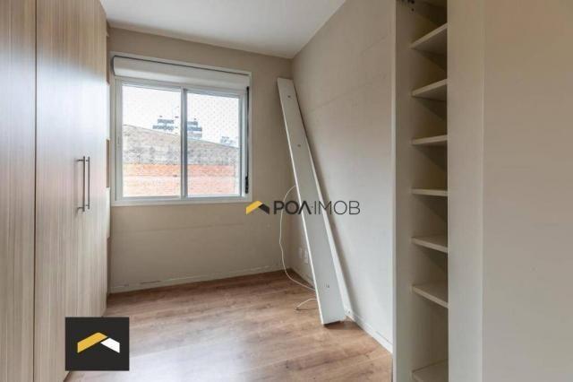 Apartamento com 3 dormitórios para alugar, 96 m² por R$ 3.600,00/mês - Petrópolis - Porto  - Foto 7