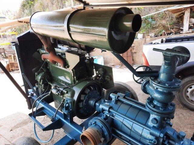 Motor de Irrigação Mercedes 4 cilindros - Foto 5