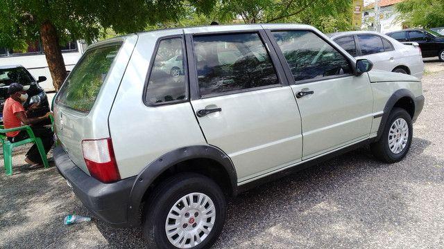 Fiat Uno Miller 08/09...com AR 17.500! - Foto 2