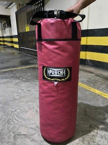 Saco Boxe Pancada Punch 90cm