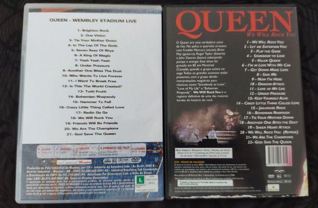 QUEEN - 3 CDS E 2 DVDS EM PERFEITO ESTADO !!! - Foto 4