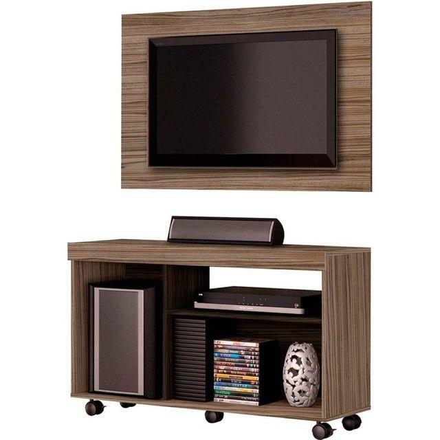 Rack com painel de TV - VENDO ou TROCO - Foto 4