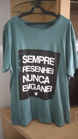 Bazar x Camiseta Masculina x Original x M, G e GG - Foto 3