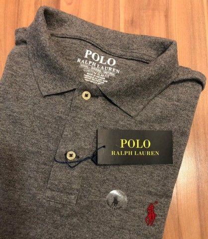 Camisa polo Tamanhos PLus Polo Ralph  - Foto 5
