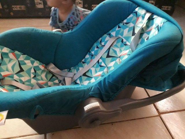 Bebê conforto semi novo menino barato - Foto 4