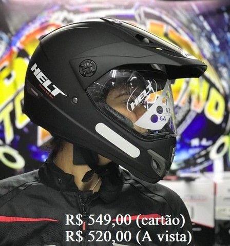 Capacete Off-Road helt e X11 a partir de R$ 520,00 JL Parts - Foto 2