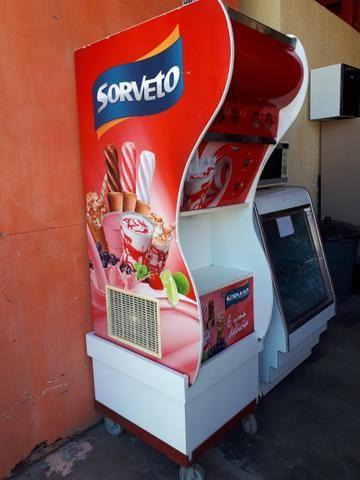 Maquina de sorvete sorveto