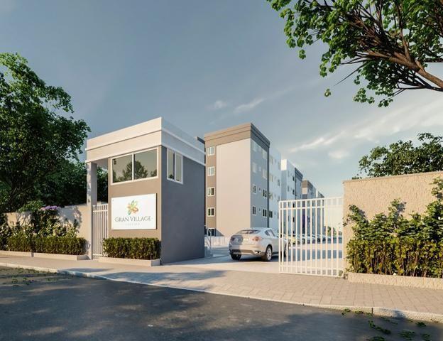 Apartamento no Centro da Caucaia Próx. Shopping Iandê - Promoção ITBI + Registro - Foto 2