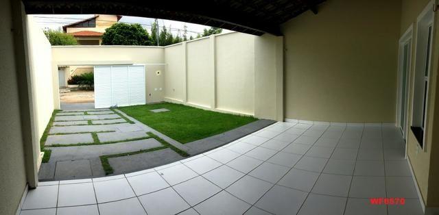 Casa plana na Sapiranga, 3 suítes, 2 vagas, casa nova, Próx Edilson Brasil Soares - Foto 10