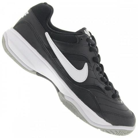 4d1d03925 Tênis Nike Court Lite Masculino - Preto/Branco - Esportes e ...