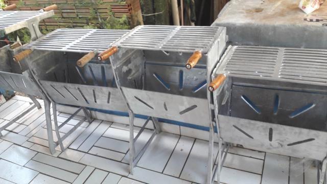 Churrasqueiras de alumínio FUNDIDO - Foto 2
