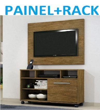 """Preço Imperdivel Lindo Kit Painel+Rack 42""""(Entrega+Montagem+Instalação)329,00"""