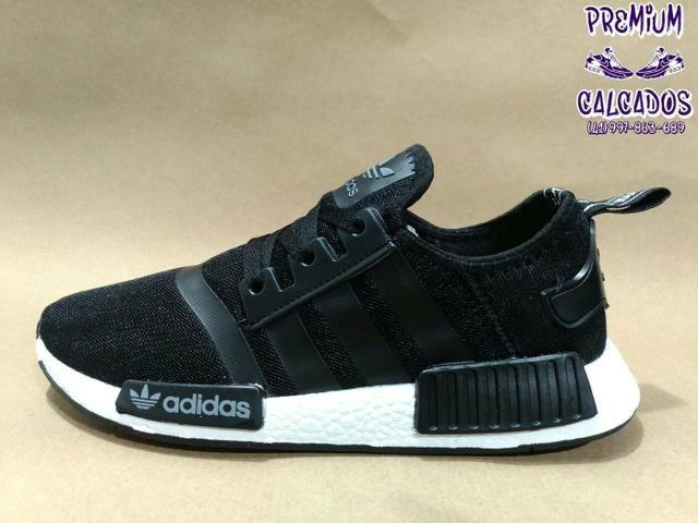 Tênis Adidas NMD Runner preto ou bordo novos na caixa, fazemos entregas