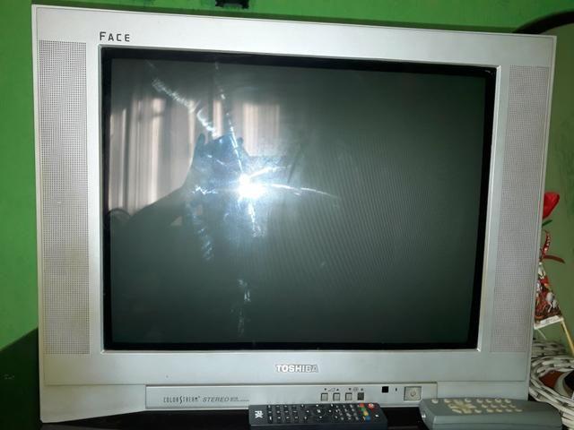 TV de 21 tela plana