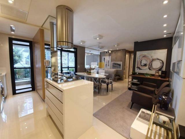 ECOVILLE - Lindo apartamento de 2 dormitórios 1 suíte no condomínio MADRI - Foto 4