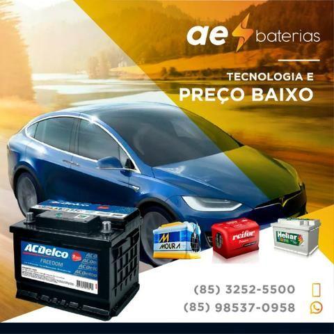 Seu carro gm com a bateria original 60Ah Acdelco