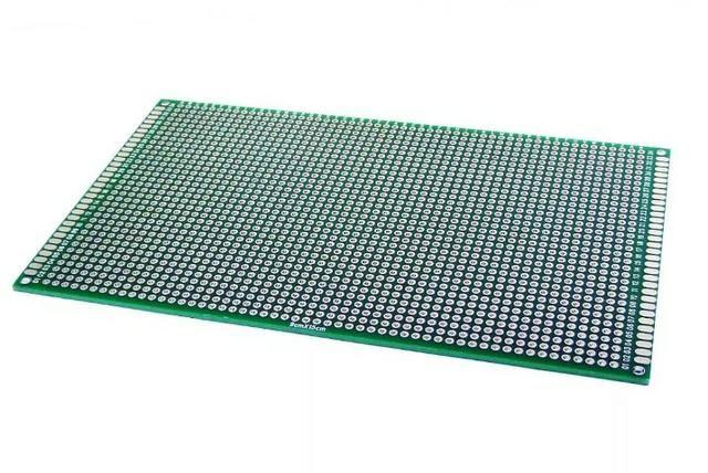 COD-CP121 Placa De Circuito Impresso Dupla Face 9x15 Cm Arduino Automação Robotica
