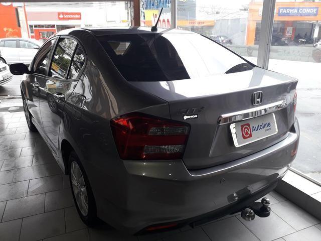 Honda -City Lx 2013 Mecânico c/Couro Sem consulta Score p/Financiamento!!! - Foto 3