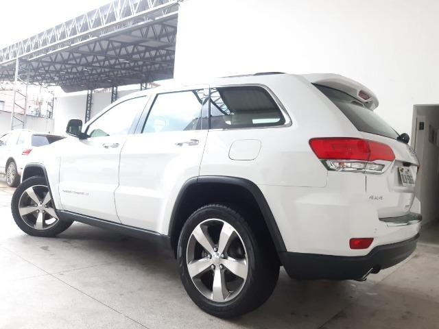 Jeep Grand Cherokee 3.6 Limited 4x4 v6 2015/2015 Branca - Foto 2