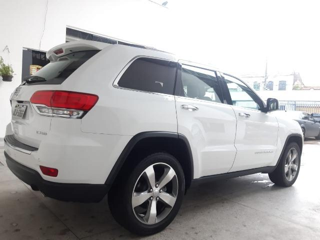 Jeep Grand Cherokee 3.6 Limited 4x4 v6 2015/2015 Branca - Foto 4