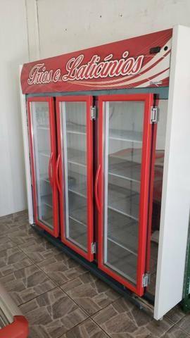 Freezer Vitrine 3 portas 11 - Foto 3