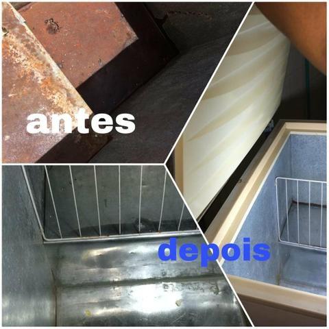 Refrigeradores,split, ar condicionado janeleiro ,microondas ,freezer - Foto 4