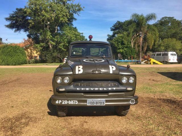 Caminhão Chevrolet 1963 raro impecável - Foto 10