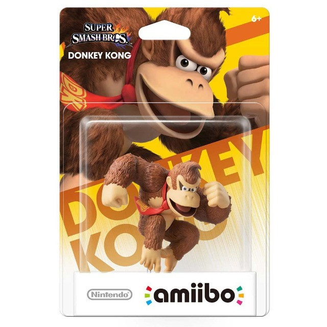 Boneco Amiibo Super Smash Bros Donkey Kong