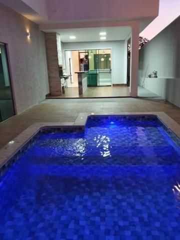Casa à venda, 197 m² por R$ 580.000,00 - Sítio Recreio Encontro das Águas - Hidrolândia/GO - Foto 3