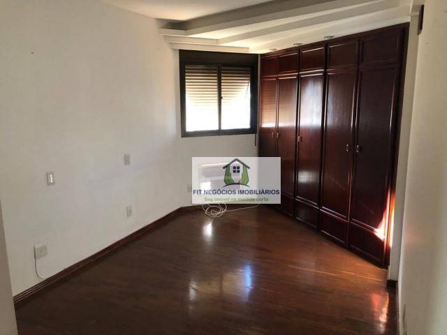 Apartamento com 4 dormitórios para alugar, 190 m² por R$ 2.700/mês - Centro - São José do  - Foto 8