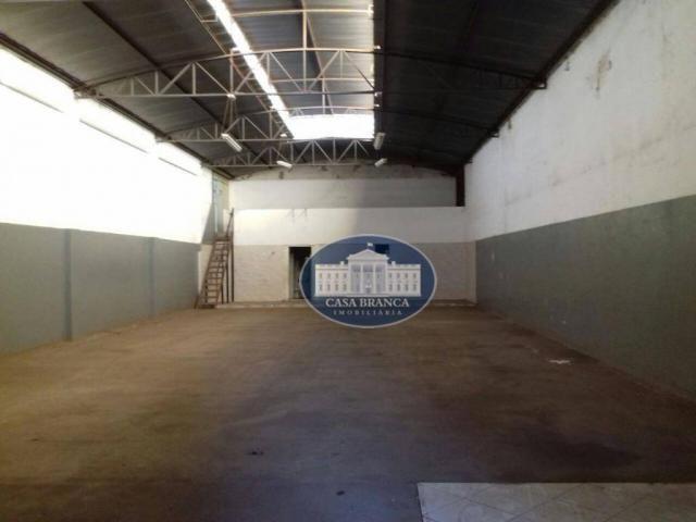 Barracão comercial para locação, Jussara, Araçatuba.