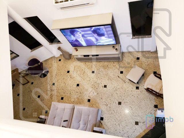 Duplex Condomínio Encontro das Águas, 3 suítes sendo 1 master, semi-mobiliado - Foto 2