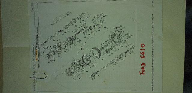 Catálogo peças, manual, Ad7b, Uniport, FG85, FR12, FB80, 70ci, FH200, 4CT - Foto 20