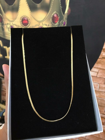 Correntes banhadas a ouro 18k + pingente   Garantia de 6 meses. - Foto 2