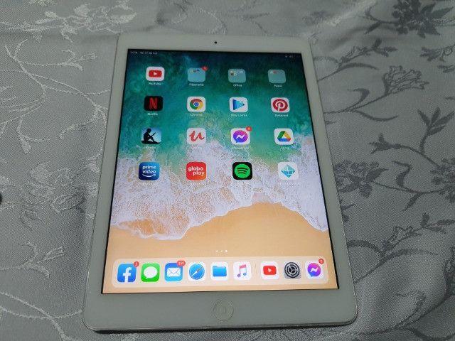 Apple iPad Air 1º Geração Funcionando Bom Para Ler E Estudo - Foto 6